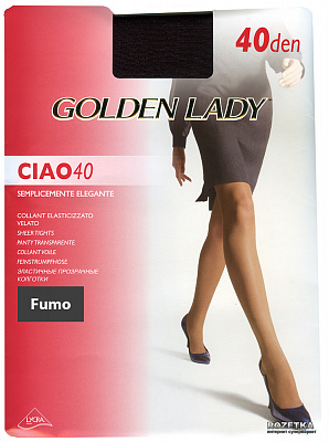 Golden Lady  CIAO 40 den /колготки/ (XL, Fumo)