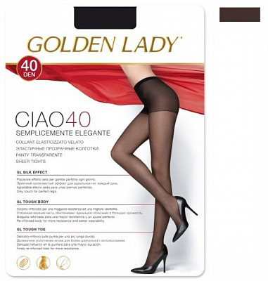Golden Lady  CIAO 40 den /колготки/ (2, Fumo)