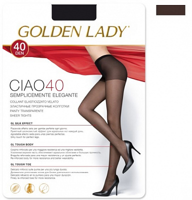 Golden Lady  CIAO 40 den /колготки/ (3, Fumo)