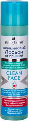 Belle Jardin Clean Face Лосьон салициловый Шалфей (150мл).40