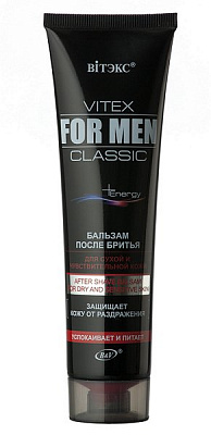 Витэкс FOR MEN CLASSIC Бальзам п/бритья д/сух.к. (100мл). 20
